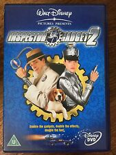 ISPETTORE GADGET 2 ~ 2003 Walt Disney Famiglia Action Commedia UK DVD