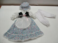 "NEW 3PC. VICTORIAN STYLE Doll Dress, Vintage Antique or China Doll 16""- 17"" doll"