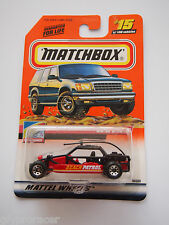 MATCHBOX 2000 ISSUE DUNE Buggy Beach Patrol #15 Red HTF