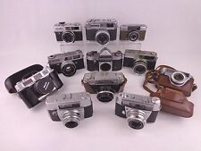 Cámara SLR de película Vintage Lote De Trabajo