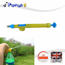 Gardening Handheld Pump Spray Hand Sprayer PET Water Bottle Spread Plant Care