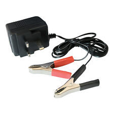 Silverline 12V Trickle Charger Motorcycle Car Caravan Motorhome Battery Charger