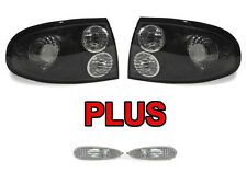 DEPO 2004 2005 2006 Pontiac GTO BLACK / CLEAR TAIL LIGHTS + CLEAR SIDE MARKERS