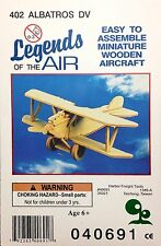 Legends Of The Air 'Albatros DV' Wooden Aircraft Model Airplane #402 NEW
