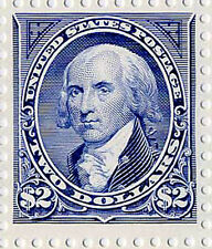 US Scott #2875a BEP Centennial $2 Madison SINGLE  from Souvenir Sheet  2875 MNH