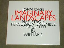John Cage Imaginary Landscapes Maelstrom Percussion Ensemble Jan Williams sealed