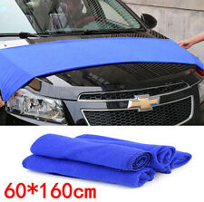 New 160*60cm Soft Blue Microfiber Cleaning Towel Car Auto Wash Dry Clean Cloth