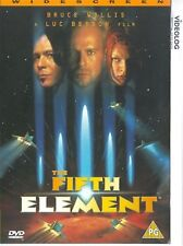 The Fifth Element Bruce Willis, Milla Jovovich, Gary Oldman, Ian Holm NEW UK DVD