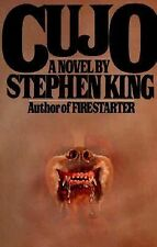 Cujo by Stephen King (1981, Hardcover)