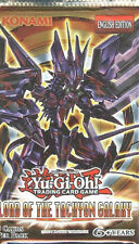 YUGIOH LORD OF THE TACHYON GALAXY BOOSTER PACK UNL EDITION SEALED BRAND NEW PACK