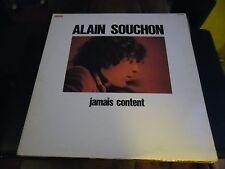 33 TOURS / LP--ALAIN SOUCHON--JAMAIS CONTENT--1977