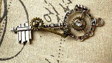 Steampunk key antique silver vintage style jewellery supplies