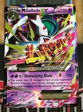 Pokemon M Gallade EX 35/108 XY Roaring Skies Ultra Rare Holo NM
