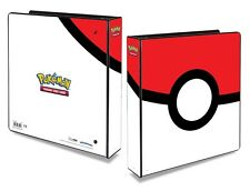 "Pokemon Pokeball 2"" Inch Ring Album - Ultra Pro Folder For 9-Pocket Pages"