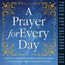 NEW - A Prayer for Every Day Page-A-Day Calendar 2016 by Schiller, David