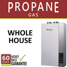 Tankless Hot Water Heater Propane Gas LP 5.4 GPM Direct Vent Self-Regulating