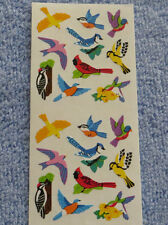Sandylion BIRDS Strip of 2 Sqs RETIRED Stickers OUT OF PRINT Very Rare LIMITED
