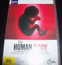 The Human Body Presented By Robert Winston BBC (Australia Region 4) DVD – New