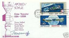 GEORGY SHONIN SIGNED POSTAL COVER - UACC RD & AFTAL RD COSMONAUT AUTOGRAPH