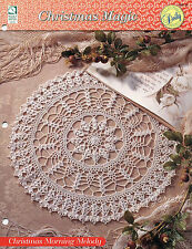Christmas Morning Melody Doily, Christmas Magic crochet pattern