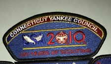 Connecticut Yankee Council 72 - Owaneco 313-  2010 FOS 100 Years of Scouting Top