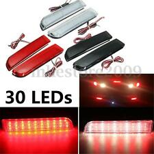 30LED Rear Bumper Reflector Tail Brake Stop Running Light For Mitsubishi Lancer
