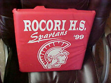 BS6  Rocori Minn MN Minnesota High School Stadium padded cushion seat Spartans