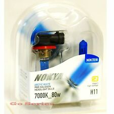 Nokya H11 Arctic White Headlight Xenon Halogen Light Bulb 7000K S2