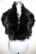 Volpe Nera pelzstole STOLE STOLA pelliccia collo BLACK FOX FUR COLLAR COLLO