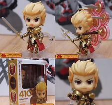 Anime Fate Stay Night Zero #410 Gilgamesh Archer 10cm Action Figure Gift Toy NIB
