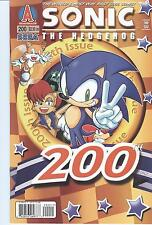 ARCHIE COMICS SONIC THE HEDGEHOG #200 SEGA! 9.4 / NM
