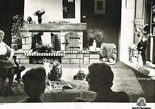 PUBLICITE  1980   ART & CHEMINEES   les maitres du feu et de la pierre (2 pages)