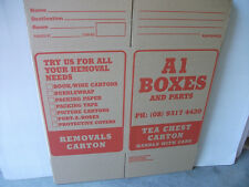 PACKING,REMOVAL,STORAGE  BOXES PERTH -  NEW STANDARD GRADE TEA CHEST CARTONS