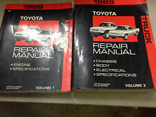 1989 TOYOTA PICK UP TRUCK Service Workshop Repair Shop Manual Set OEM Factory