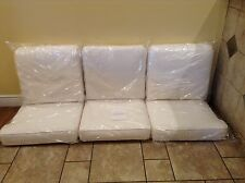 Frontgate PACIFICA SOFA Outdoor Patio Replacement Lounge Cushion White