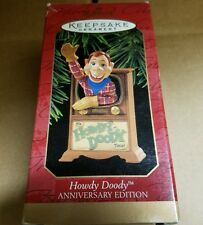 HALLMARK ORNAMENT HOWDY DOODY ANNIVERSARY COLLECTION CLASSIC TV SHOWS