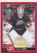 EDDIE LACK 2016-17 16-17 OPC O-PEE-CHEE RED PARALLEL #251 CAROLINA !