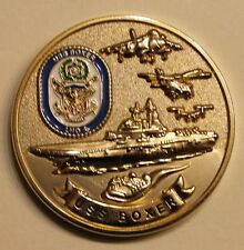 USS Boxer LDH-4 The Golden Gator Chief's Marie / Navy Challenge Coin