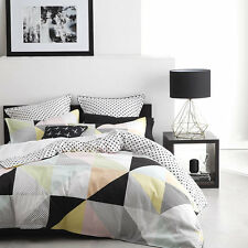 Logan and Mason MANLY SORBET QUEEN Size Bed Doona Duvet Quilt Cover Set NEW