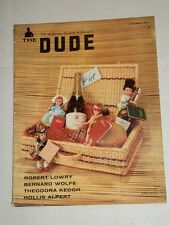Vintage THE DUDE Men's Magazine Vol 2 #1 September 1957 WALLY WOOD