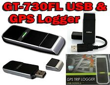 Canmore GT-730FL Mini USB GPS Receiver & Data Logger Dongle ☆48CH ☆SiRF IV Chip