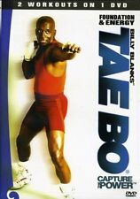 Billy Blanks Tae Bo Cardio Kickboxing - Foundation and Energy - 2 Workouts!