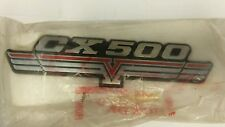 CX 500 SIDE COVER EMBLEM 1978-1979 - N.O.S. IN PACKAGE