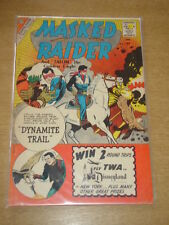MASKED RAIDER #23 FN (6.0) CHARLTON COMICS APRIL 1960