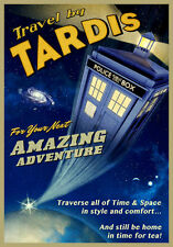 TARDIS 3 (DR WHO) Art A4 print