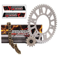 NEW X Ring Gold Chain and Sprocket Kit Aluminum  Honda ATC 250R 1986