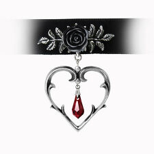 GENUINE Alchemy Gothic Pendant - Wounded Love Choker | Ladies Fashion Necklace