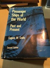Trans-Atlantic Passenger Ships Past And Present Eugene Smith 1978 2nd Edition