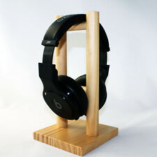 240mm Wooden Headphone Display Holder Stand Frame for On-ear Over-ear Headphones