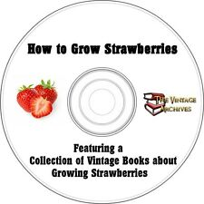 How To Grow Strawberries Vintage Book Collection on CD